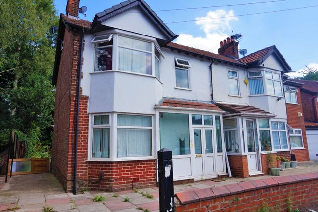 Thumbnail Semi-detached house for sale in Edgeworth Drive, Manchester