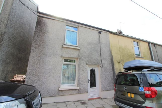 Thumbnail End terrace house for sale in Crown Street, Crumlin, Newport