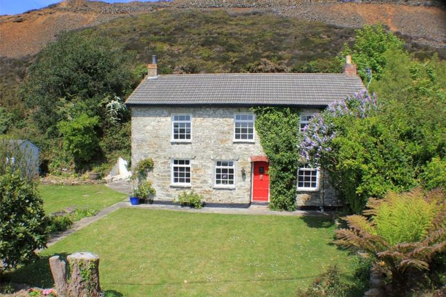 Thumbnail Detached house for sale in Mount Hawke, Truro, Cornwall