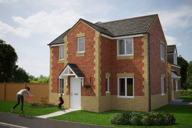 Thumbnail Detached house for sale in Durham Road, Middlestone Moor, Spennymoor