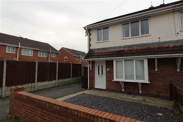 Thumbnail Semi-detached house to rent in Cleadon Road, Kirkby, Liverpool