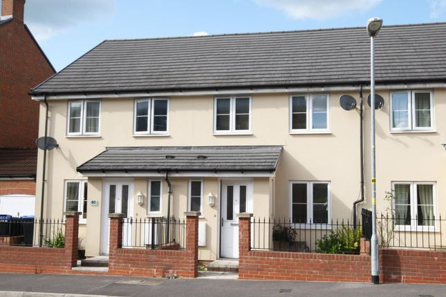 Thumbnail Terraced house to rent in Cloatley Crescent, Royal Wootton Bassett, Wiltshire