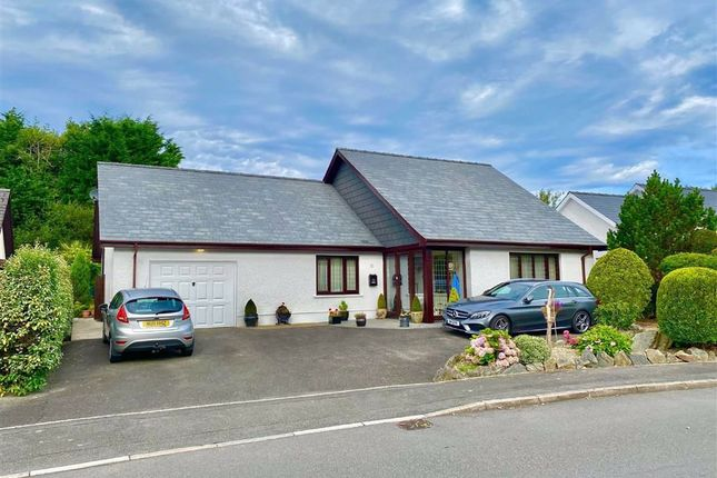 Thumbnail Detached bungalow for sale in Waungiach, Llechryd, Cardigan, Ceredigion