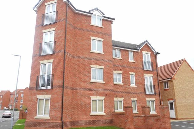 Thumbnail Flat for sale in Pickering Close, Stoney Stanton, Leicester