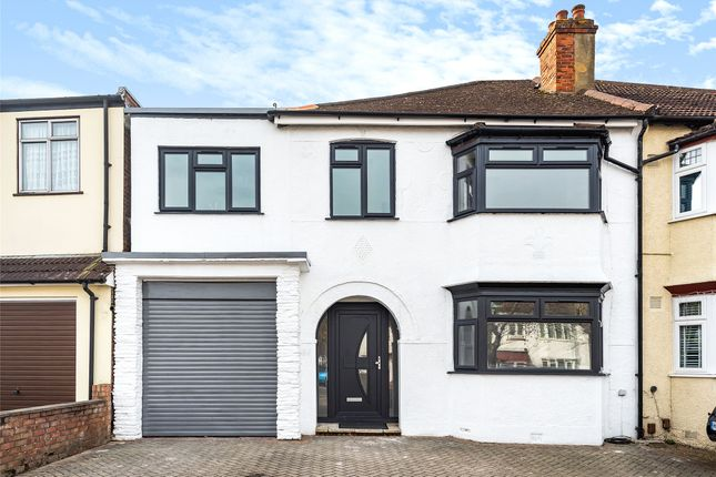 Thumbnail Semi-detached house for sale in Virginia Road, Thornton Heath