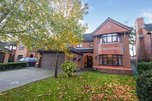 Thumbnail Detached house for sale in Mallard Walk, Mickleover, Derby