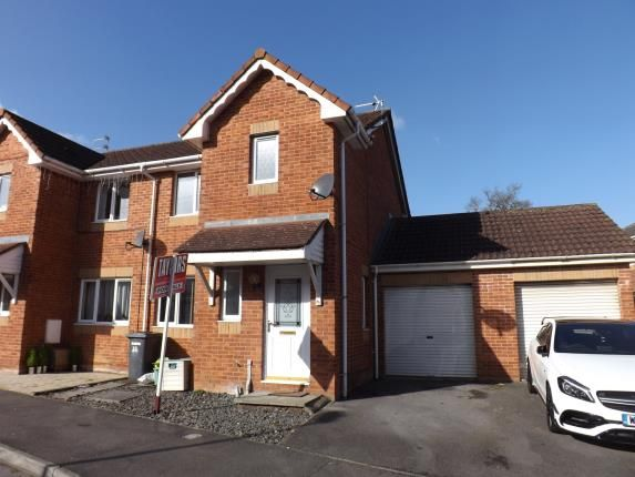 Thumbnail Semi-detached house for sale in Pinkers Mead, Emersons Green, Bristol