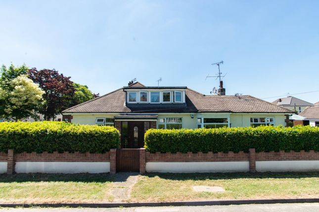 Thumbnail Detached bungalow for sale in Warescot Road, Brentwood