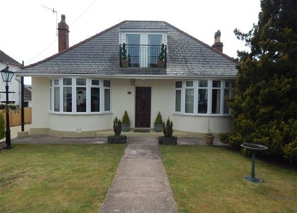 Thumbnail Detached bungalow for sale in King Edward Road, Brynmawr, Ebbw Vale