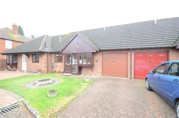 Thumbnail Terraced bungalow for sale in Robert Way, Mytchett, Camberley