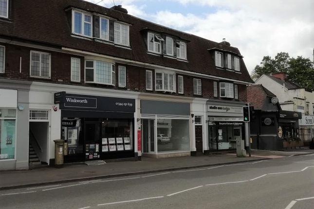 Thumbnail Retail premises for sale in London Road, Sunningdale, Ascot
