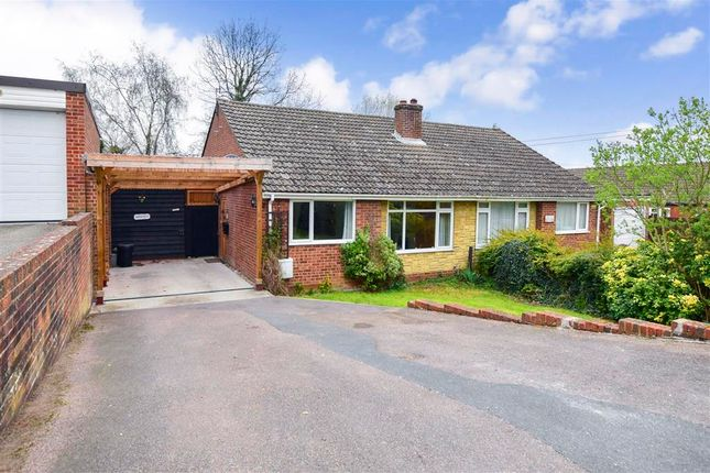 Thumbnail 2 bed semi-detached bungalow for sale in Bolts Hill, Chartham, Canterbury, Kent
