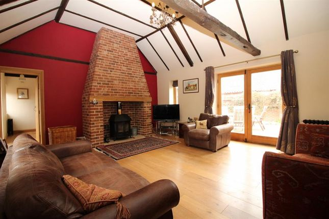 Thumbnail Barn conversion for sale in Plump Road, Tharston, Norwich