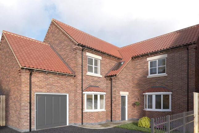 Thumbnail Detached house for sale in Plot 4, Holme Farm Court, Main Street, Beeford, Driffield