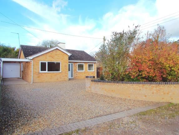 Thumbnail Bungalow for sale in Mattishall, Dereham