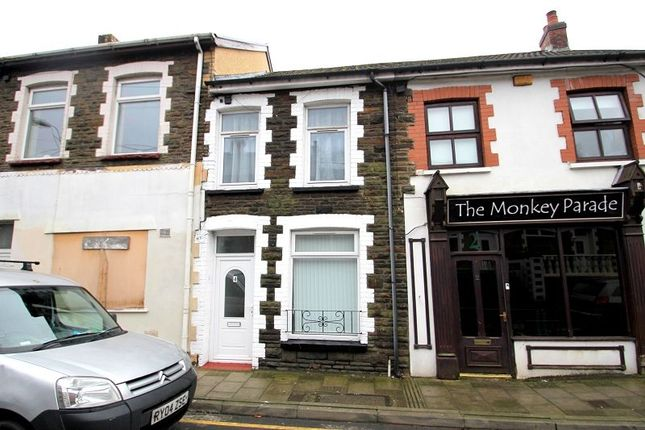 Thumbnail Town house to rent in School Street, Elliots Town, New Tredegar, Caerphilly.