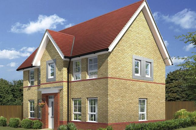 "Thumbnail Detached house for sale in ""Morpeth"" at Fen Street, Brooklands, Milton Keynes"