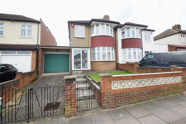Thumbnail Semi-detached house for sale in Kimberley Drive, Sidcup, Kent