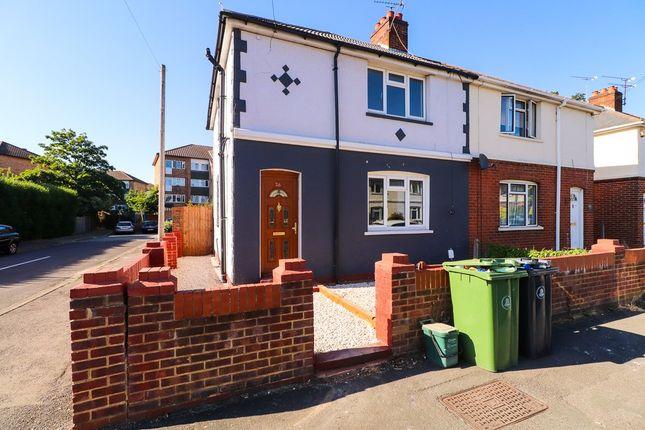 3 bed semi-detached house to rent in Moorlands Road, Camberley GU15