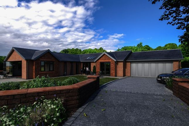 Thumbnail 4 bedroom detached bungalow for sale in West Grove, Lower Heswall, Wirral