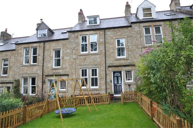 Thumbnail Terraced house for sale in Croft Terrace, Hexham