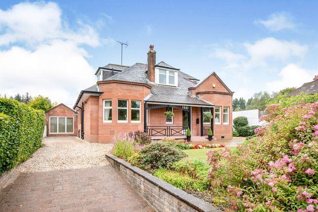 Thumbnail Detached bungalow for sale in Redburn Avenue, Giffnock, Glasgow