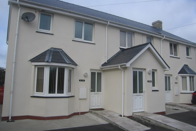 Thumbnail End terrace house to rent in Tiers Cross, Haverfordwest