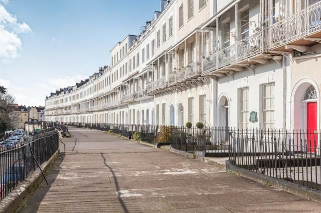 Thumbnail Flat for sale in Royal York Crescent, Bristol