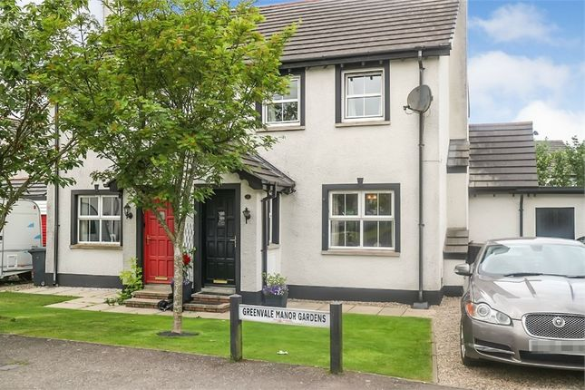 Thumbnail Semi-detached house for sale in Greenvale Manor Gardens, Muckamore, Antrim