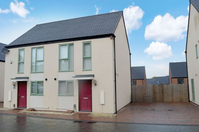 Thumbnail Semi-detached house for sale in Hendy Avenue, Ketley, Telford, Shropshire