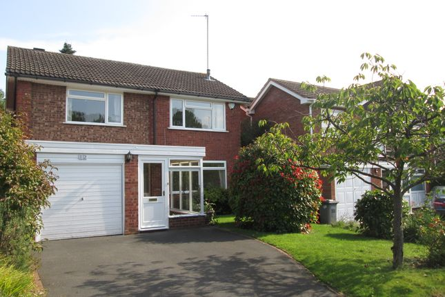 Thumbnail Detached house to rent in Church Hill Close, Solihull