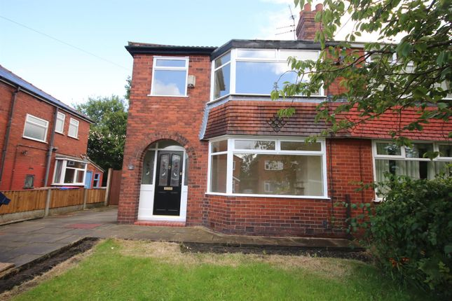 Thumbnail Semi-detached house to rent in Wilbraham Road, Walkden, Manchester