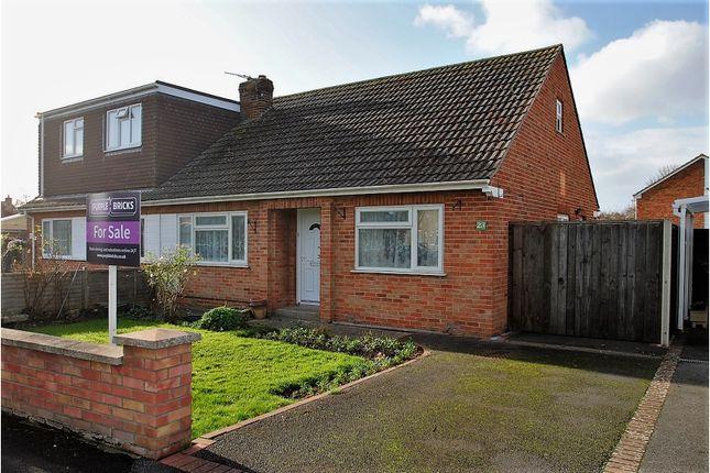 Thumbnail Semi-detached bungalow for sale in Rosewood Close, Burnham-On-Sea