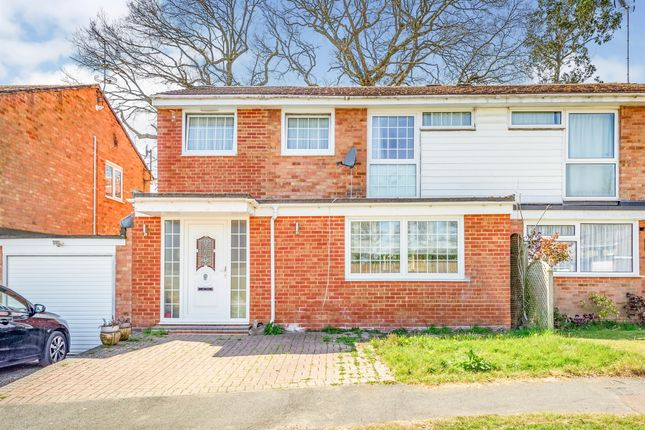 Thumbnail Semi-detached house for sale in Forest Close, Crawley Down, Crawley