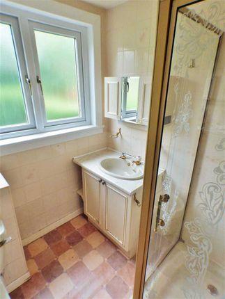Shower Room of Tay Grove, Mossneuk, East Kilbride G75