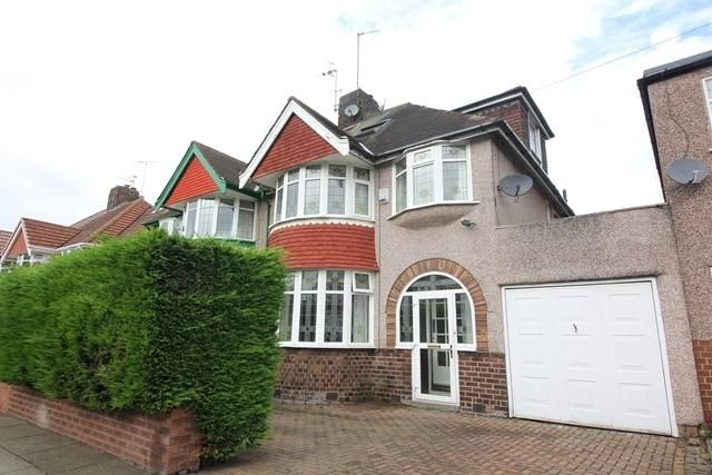 Thumbnail Detached house to rent in Storrsdale Road, Mossley Hill, Liverpool