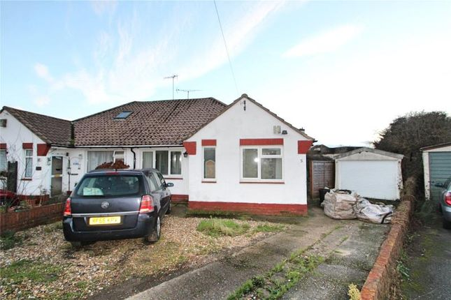 Thumbnail Semi-detached bungalow for sale in Muirfield Close, Worthing, West Sussex