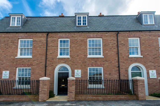 Thumbnail Terraced house for sale in Crown Street West, Poundbury, Dorchester