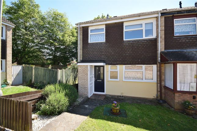 Thumbnail End terrace house to rent in Northolt Avenue, Bishop's Stortford