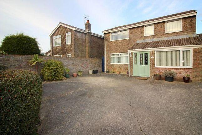 Thumbnail Link-detached house for sale in Maes Talcen, Brackla, Bridgend