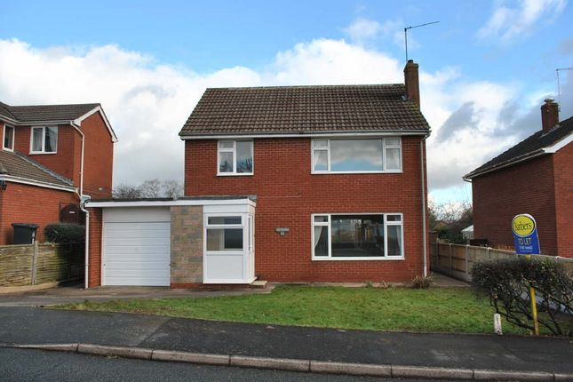 Thumbnail Detached house to rent in Westune, Whitchurch, Shropshire