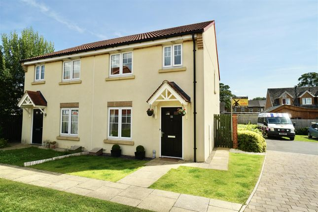 Thumbnail Semi-detached house for sale in Kingfisher Way, Carlton Miniott, Thirsk