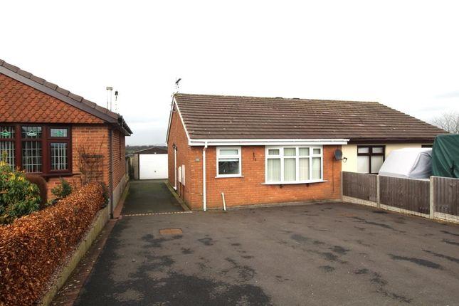 Thumbnail Bungalow to rent in Rennie Crescent, Cheddleton, Leek