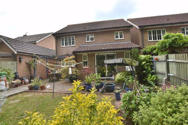 Thumbnail Detached house for sale in Serpentine Close, Great Ashby, Stevenage, Herts