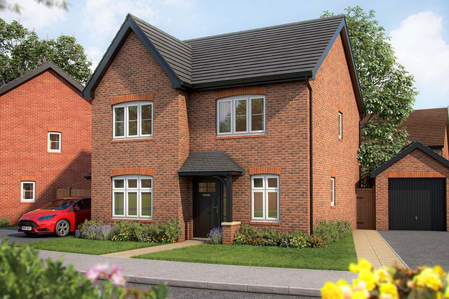 "Thumbnail Detached house for sale in ""The Larch"" at Southam Road, Radford Semele, Leamington Spa"