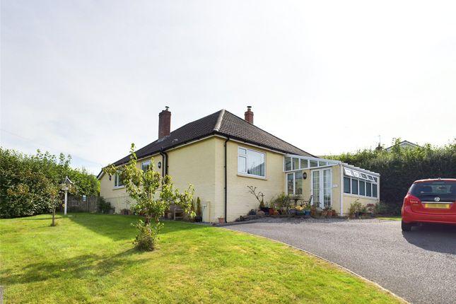 Thumbnail Bungalow for sale in Cwmcrawnon Road, Llangynidr, Crickhowell, Powys