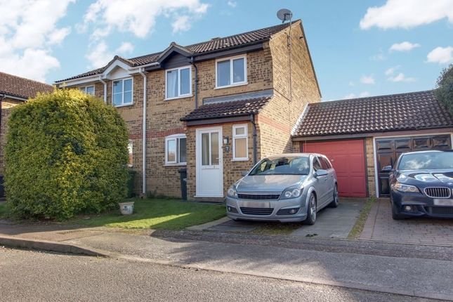 Thumbnail Semi-detached house to rent in Arundel Crescent, Eynesbury, St Neots