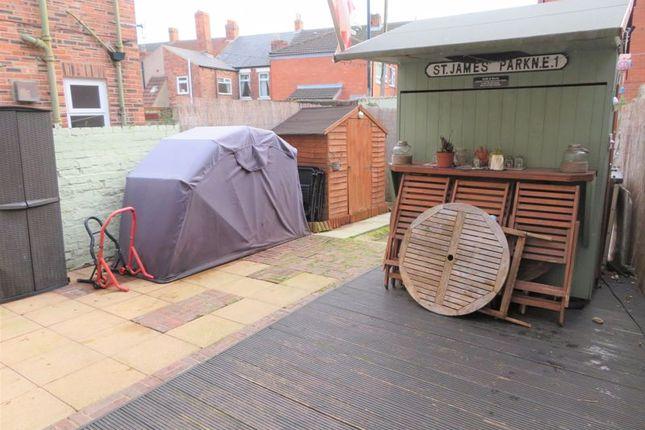 Rear Yard of Spence Terrace, North Shields NE29