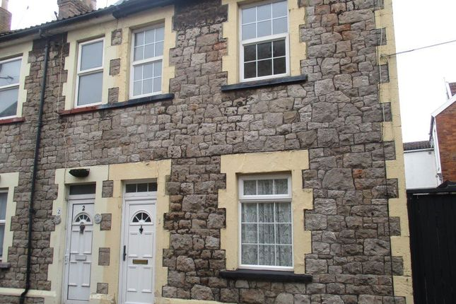 Thumbnail Terraced house to rent in Worthy Place, Weston-Super-Mare