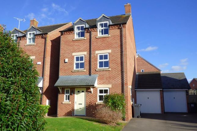 Thumbnail Detached house to rent in Mount Pleasant Kingsway, Quedgeley, Gloucester
